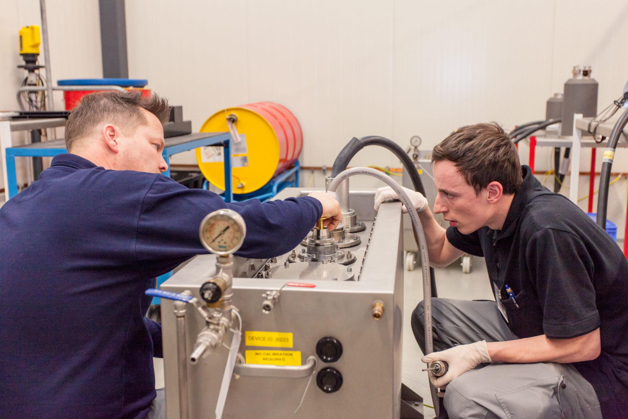 werken bij varex high voltage test lab