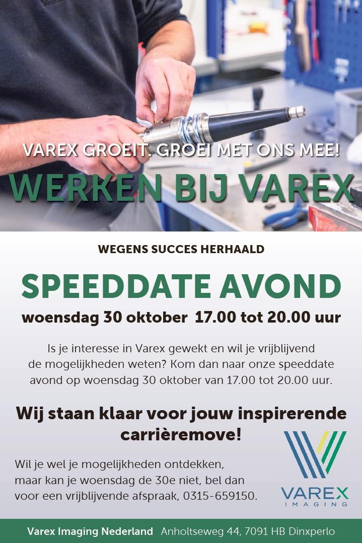 speeddate vacatures dinxperlo werken bij varex